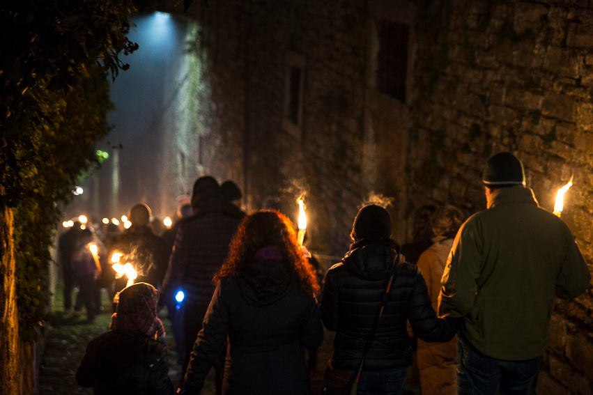 Torchlight procession 2019 - Moltrasio
